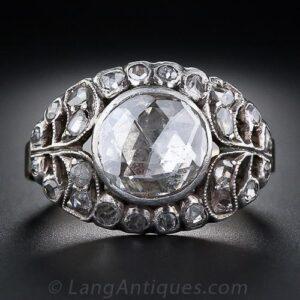 Georgian Rose-Cut Diamond Engagement Ring