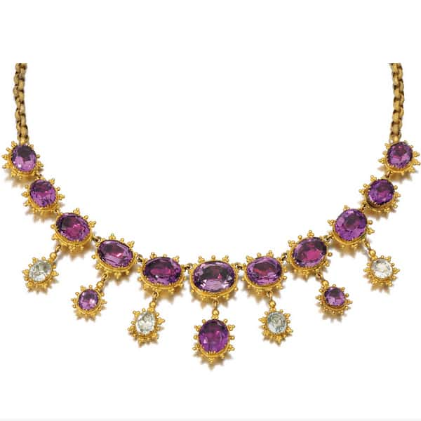 Georgian Foilbacked Gemstone Necklace.jpg