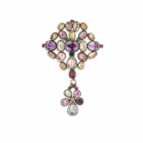 Georgian Foiled Gemstone Brooch.jpg