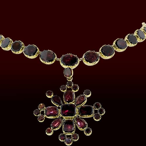 Georgian Garnet Pendant Necklace.jpg