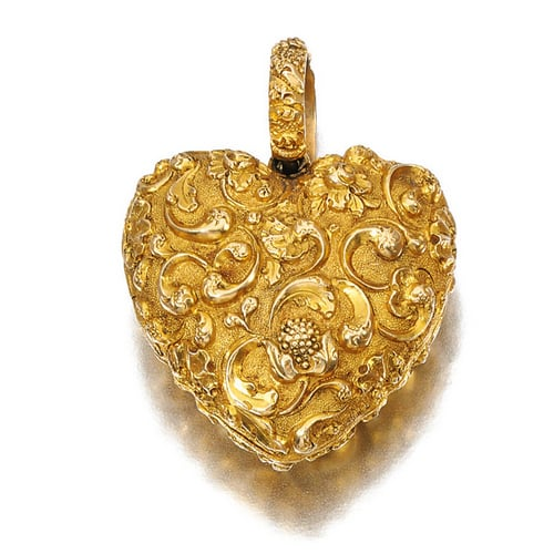 Georgian Gold Heart Locket.jpg