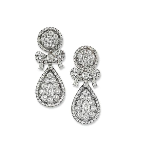 Georgian Pendeloque Diamond Earrings.jpg