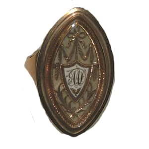 Georgian Ring with Neoclassical Bezel.jpg
