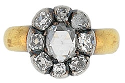 Georgian Rose Cut Diamond Ring.jpg