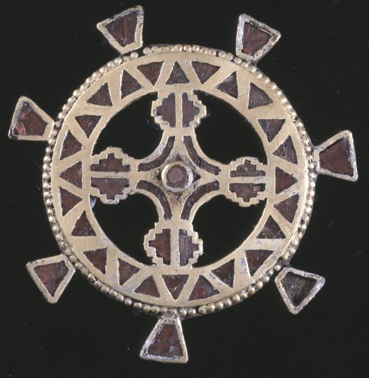Gilt-Silver Disc Brooch.jpg