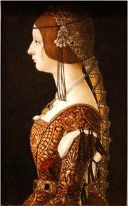 Blanca Maria Sforza, 1493.