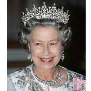 Girls of Great Britain Tiara with Bandeau Restored.