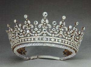 The Girls of Great Britain and Ireland Tiara in its Current Iteration.