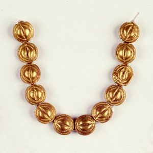 Late Cypriot Gold and Glazed Composition Necklace c.1550-1050 BC. © Trust
