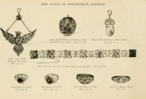 Guild of Handicraft Jewelry Advertisement.