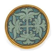A Micromosaic Brooch with Hagia Sophia Motif, Castellani, c.1860s Photo Courtesy of Christie's.