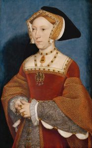 Portrait of Jane Seymour by Hans Holbein the Younger c.1536-37.