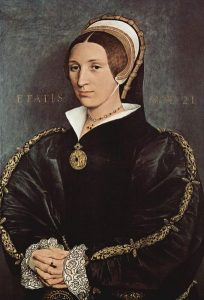 Portrait of Elizabeth Seymour, 1540-1541.