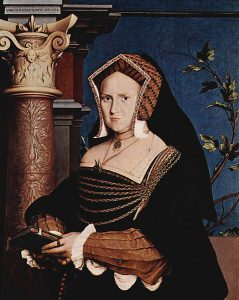 Portrait of Mary Wotton, Lady Guildenford, 1527.