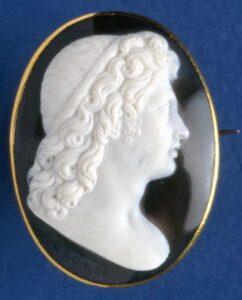 Profile of Alexander c. 1790, Onyx. © Trustees of the British Museum.