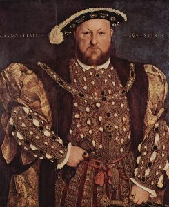 Portrait of Henry VIII.