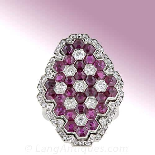 Honeycomb Art Deco Ring.jpg