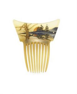 Lalique Horn Comb. Photo Courtesy of Christie's.