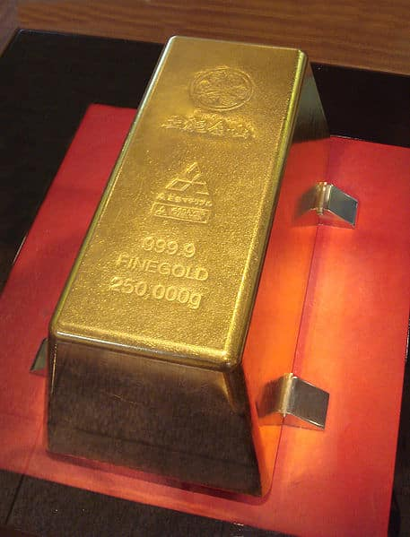 Ingot of Gold.