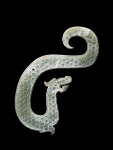 Carved Jade Dragon Zhou dynasty c.5th to 4th century B.C. © Trustees of the British Museum.