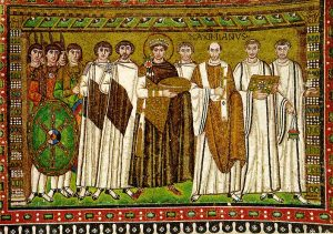 Justinian Mosaic, Ravenna.