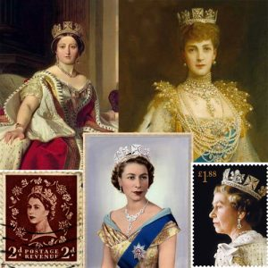 The Diamond Diadem a.k.a. King George IV's Circlet has been Worn By Queens for Generations. Queen Victoria, Queen Alexandra, and Queen Elizabeth II.