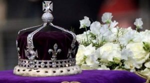 The Koh-i-noor Set in the Coronation Crown for Queen Mary (Wife of King George VI) Mother of Queen Elizabeth II. (Reuters Photo)