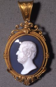 Henry Somerset, 7th Duke of Beaufort, c. 1850, Onyx. © Trustees of the British Museum.