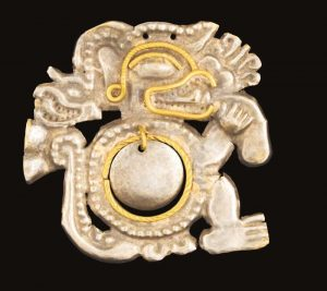 Platinum and Gold Object, La Tolita Culture, Ecuador.