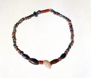 Late Prehistoric Beads from Ur (Iraq) c.4000 BC.