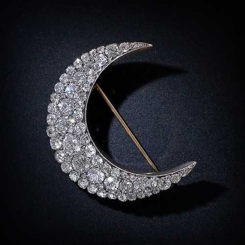 Late Victorian Diamond Crescent Brooch.jpg