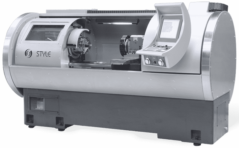 An Example of a Modern Lathe.