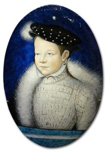 Limoges Enamel on Copper - The Dauphin, Later Frances II.