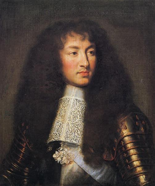 Portrait of Louis XIV (1661) by Charles le Brun