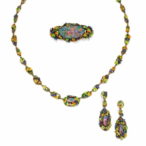 Louis Comfort Tiffany Black Opal Set.jpg