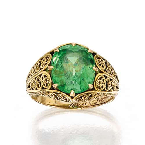 Louis Comfort Tiffany Demantoid Garnet Ring.jpg