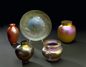 Louis Comfort Tiffany Favrile Glass.