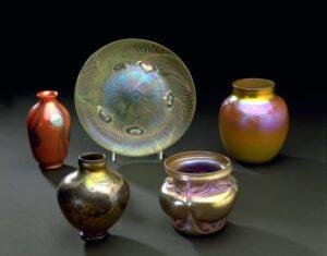 Louis Comfort Tiffany Favrile Glass.