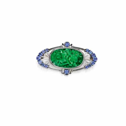 Louis Comfort Tiffany Jade Brooch.jpg