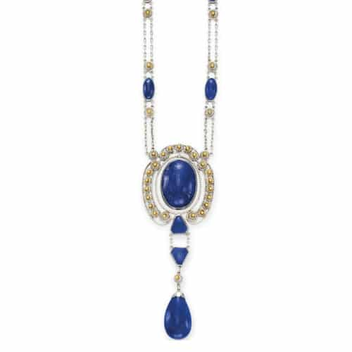 Louis Comfort Tiffany Lapis Necklace.jpg