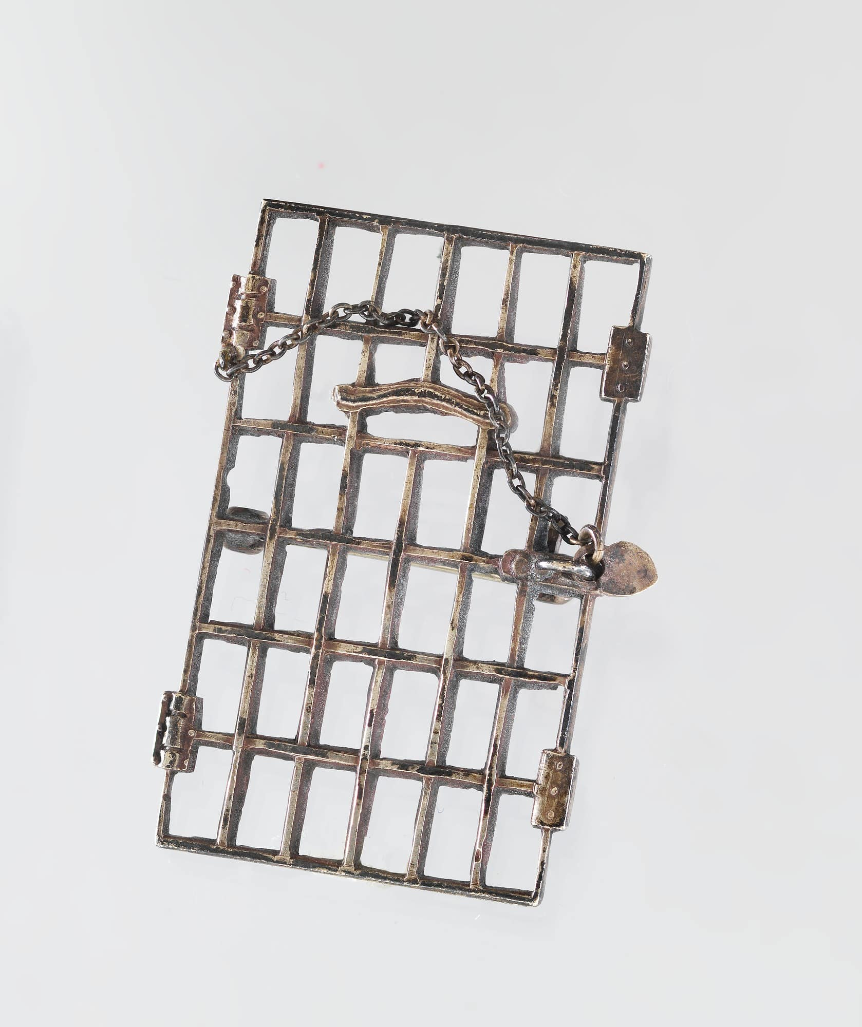 Jailed for Freedom Pin Awarded to Lucille Angiel Calmes After Serving Jail Time in the District of Columbia for Her Part in the Watch Fire Demonstration.