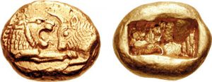 Lydian Coin 561-546 BC