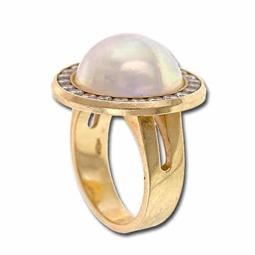 Mabe Pearl Ring.