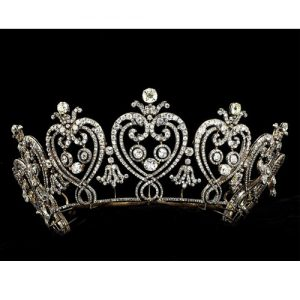 "Cartier Edwardian Diamond ""Manchester"" Tiara."