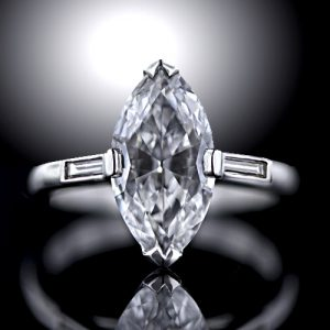 Marquise-Cut Diamond.