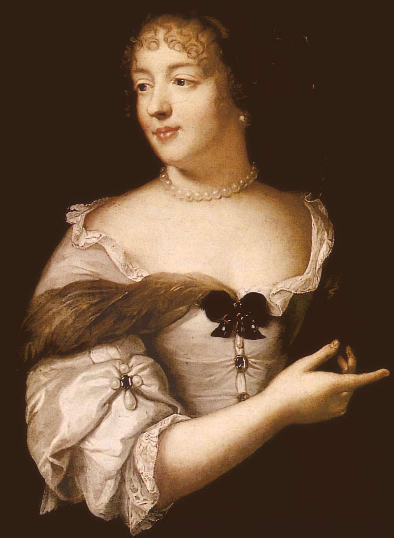 Marie de Rabutin-Chantal, Marquise de Sévigné by Claude Lefebvre.