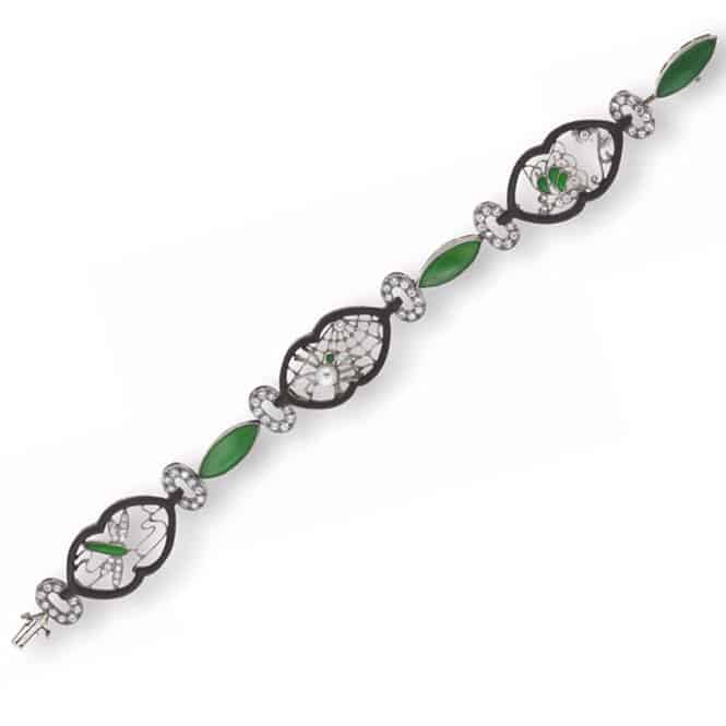 Marsh-Steel-Diamond-Jadeite Bracelet.jpg