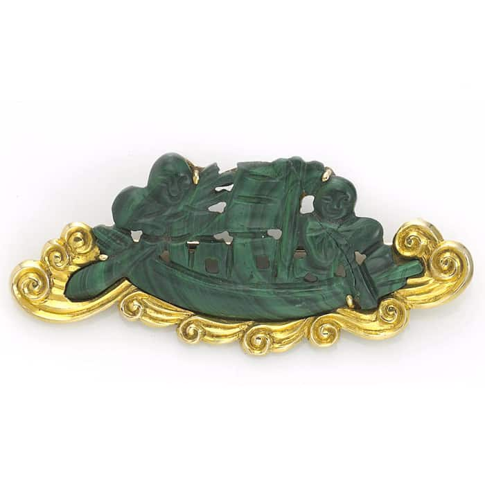 Marsh Carved Malachite Brooch.jpg
