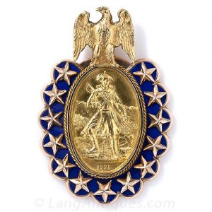 "Bailey, Banks & Biddle ""Sons of the (American) Revolution"" Pendant."