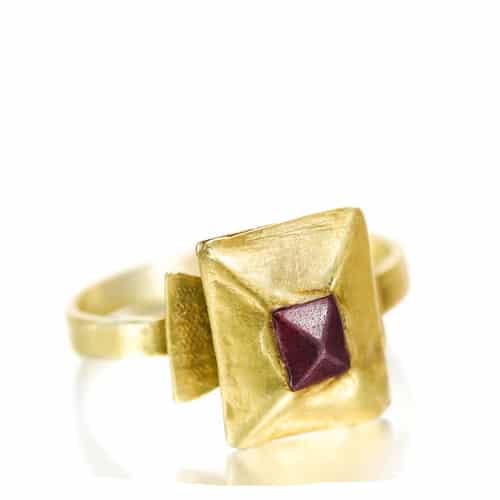 Medieval Point Cut Garnet Ring.jpg